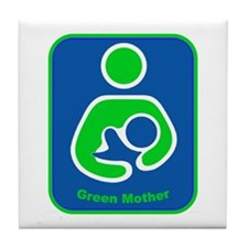 IBFS Green Mother Tile Coaster
