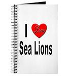 I Love Sea Lions Journal