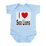 I Love Sea Lions Infant Creeper