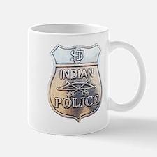 U S Indian Police Mug