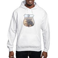U S Indian Police Hoodie