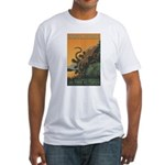 Tree Octopus WPA-Style Fitted T-Shirt