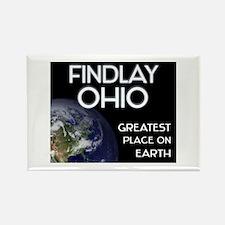 findlay ohio - greatest place on earth Rectangle M