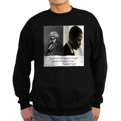 Douglass-Obama Sweatshirt (dark)
