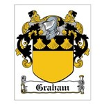 Graham Coat of Arms Small Poster