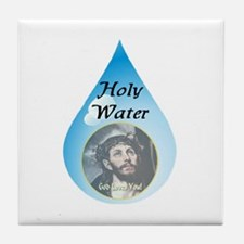 Holy Water Tile Coaster