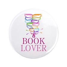 "Mountain Of Books 3.5"" Button"
