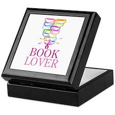 Mountain Of Books Keepsake Box