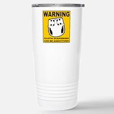 Warning... Travel Mug
