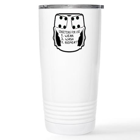 Wear, Wash, Repeat... Stainless Steel Travel Mug