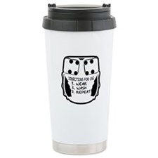 Wear, Wash, Repeat... Travel Mug