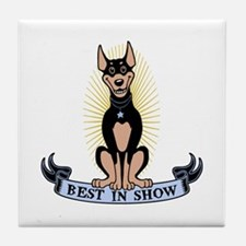 Best in Show Tile Coaster