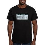 Colorado Tracker Men's Fitted T-Shirt (dark)