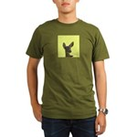 Deer Organic Men's T-Shirt (dark)