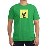Deer Men's Fitted T-Shirt (dark)