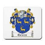 Green Coat of Arms Mousepad