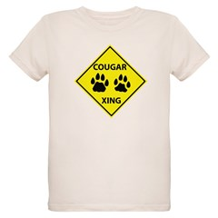 Cougar Mountain Lion Crossing T-Shirt