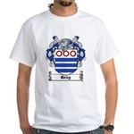 Grey Coat of Arms White T-Shirt