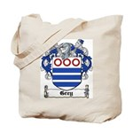 Grey Coat of Arms Tote Bag