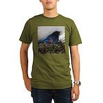 Baby Steller's Jays Organic Men's T-Shirt (dark)
