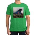 Baby Steller's Jays Men's Fitted T-Shirt (dark)