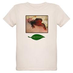 Rough Skinned Newt Salamander T-Shirt