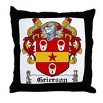 Grierson Coat of Arms Throw Pillow