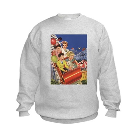 YesterdayCafe Kids Sweatshirt