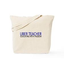 Uber Teacher Tote Bag