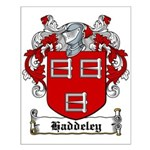 Haddeley Coat of Arms Small Poster