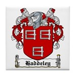 Haddeley Coat of Arms Tile Coaster