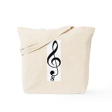 Tenor Clef Tote Bag