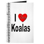 I Love Koalas Journal