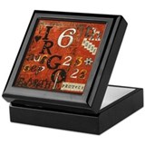 Virgo Keepsake Boxes