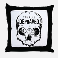 Totally Depraved 2 Throw Pillow