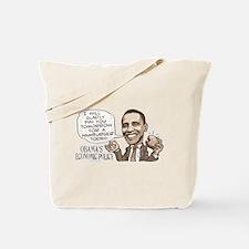 Wimpy Obama Hamburger Tote Bag