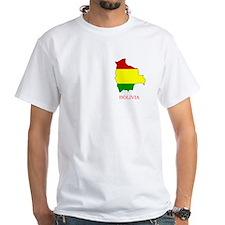White Bolivia T-Shirt