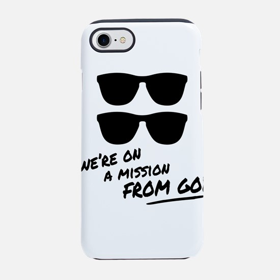 Blues Bros - Message from God iPhone 7 Tough Case