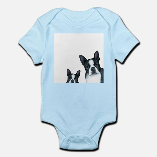 Dog 128 Boston Terrier Body Suit