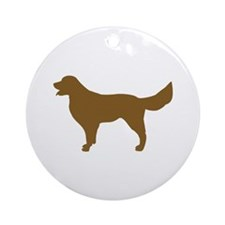 Golden Retriever - Dog Ornament (Round)
