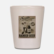 Rainier Beer Shot Glass
