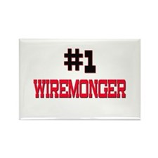 Number 1 WIREMONGER Rectangle Magnet