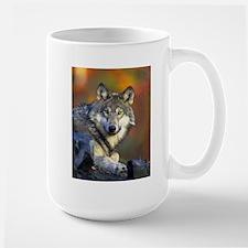 """""""Gray Wolf"""" Mug"""