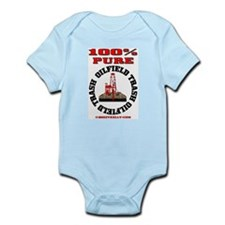 100% Pure Oilfield Trash Infant Bodysuit
