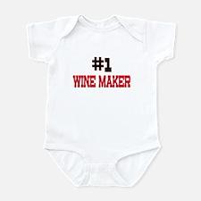 Number 1 WINE MAKER Infant Bodysuit
