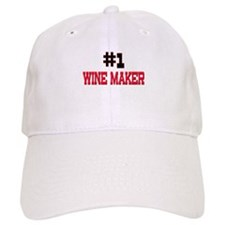 Number 1 WINE MAKER Baseball Cap
