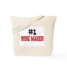 Number 1 WINE MAKER Tote Bag