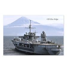 USS Blue Ridge Postcards (Package of 8)
