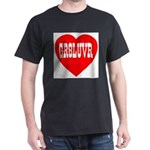 GR8LUVR Black T-Shirt