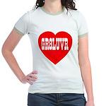GR8LUVR Jr. Ringer T-Shirt